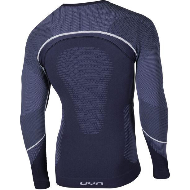 UYN Ambityon UW LS Shirt Herr deep blue/avio/white