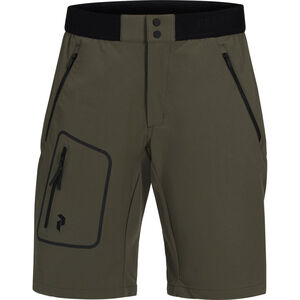 Peak Performance Ligth Softshell Shorts Herr terrain green terrain green