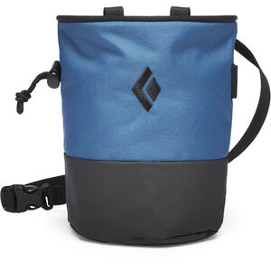 Black Diamond Mojo Zip Chalk Bag Astral Blue/Slate Astral Blue/Slate