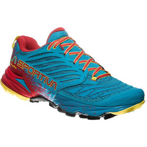La Sportiva Akasha Shoes Herr tropic blue/cardinal red tropic blue/cardinal red