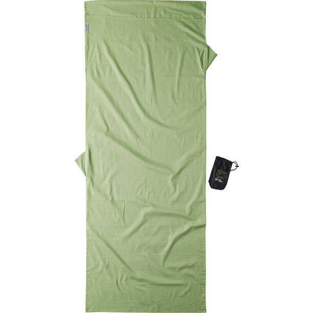 Cocoon TravelSheet Organic Cotton forest shade
