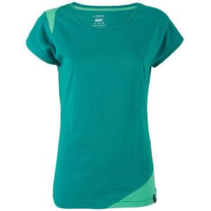 La Sportiva Chimney T-shirt Dam emerald/mint emerald/mint