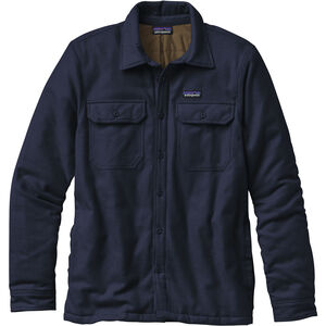 Patagonia Insulated Fjord Flannel Jacket Herr navy blue navy blue