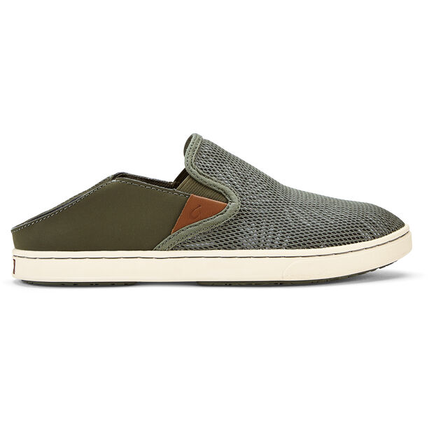 OluKai Pehuea Shoes Dam dusty olive/palm