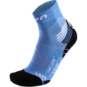 UYN Run Trail Challenge Socks Dam turquoise/white turquoise/white