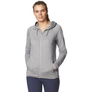 Craghoppers NosiLife Sydney Hooded Top Dam soft grey marl/black pepper soft grey marl/black pepper