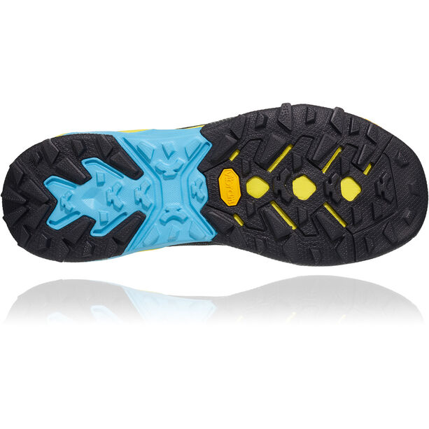 Hoka One One Sky Arkali Shoes Herr black/cyan/citrus