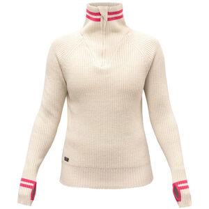 Devold Varde Zip Neck Sweater Dam offwhite offwhite