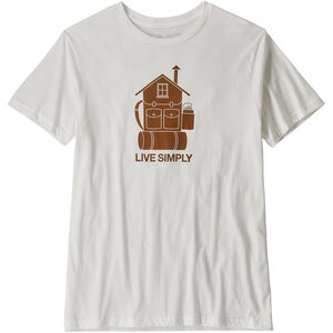 Patagonia Live Simply Home Organic T-Shirt Herr white white