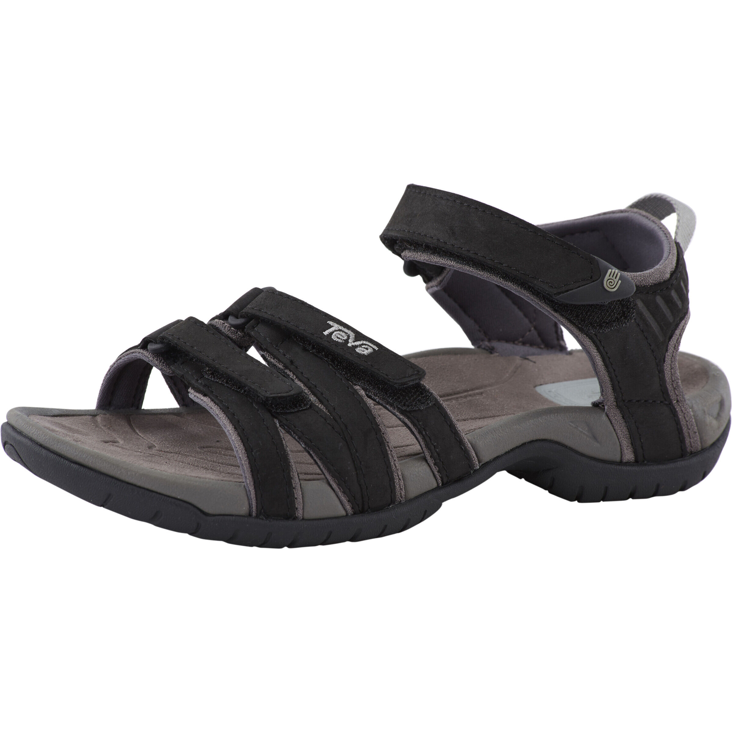 Teva Tirra Leather Sandals Dam black