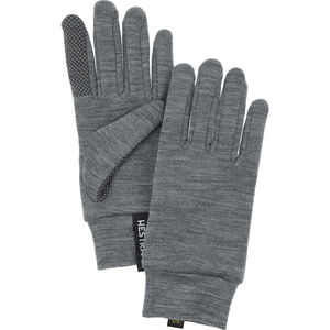 Hestra Merino Touch Point Liners grey grey