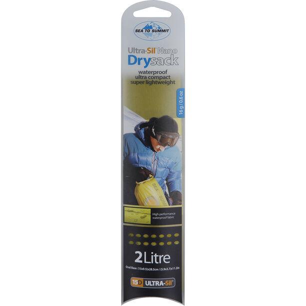 Sea to Summit Ultra-Sil Nano Dry Sack 2l lime