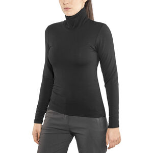 Craft Essential Warm Turtleneck Shirt Dam black black