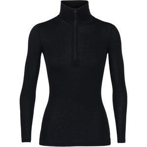 Icebreaker 175 Everyday LS Half Zip Shirt Dam black black