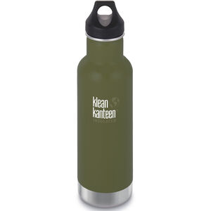 Klean Kanteen Classic Vacuum Insulated Bottle Loop Cap 592ml fresh pine fresh pine