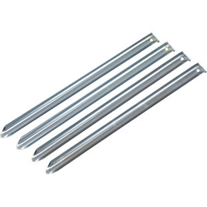 CAMPZ Steel Ground Peg 50cm 1,5mm silver silver
