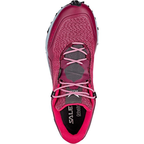 SALEWA Speed Beat GTX Shoes Dam red plum/rose red