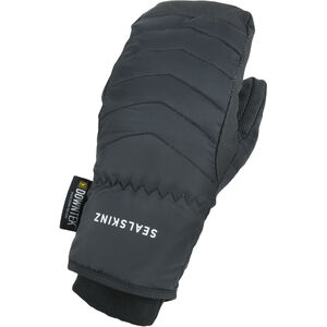 Sealskinz Waterproof Extreme Cold Weather Down Mittens Black Black
