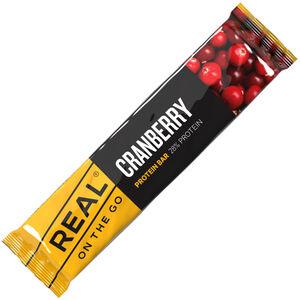 Real Turmat Proteinbar Cranberry 40g