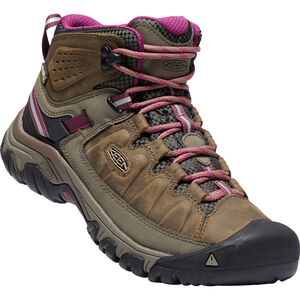 Keen Targhee III WP Mid Shoes Dam weiss/boysenberry weiss/boysenberry