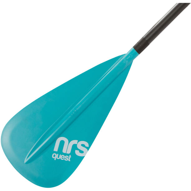 NRS Quest SUP Paddle 2-piece teal