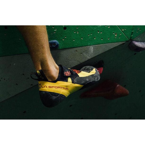 La Sportiva Skwama Shoes black/yellow