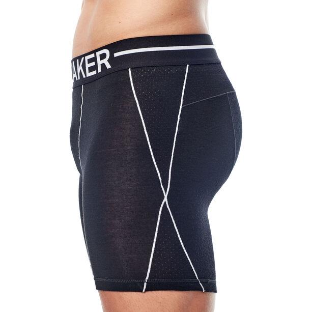 Icebreaker Anatomica Zone Long Boxers Herr black/white