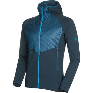 Mammut Aconcagua Light Hybrid ML Hooded Jacket Herr wing teal wing teal