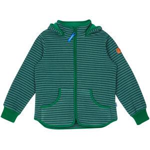 Finkid Tonttu Striped Fleece Jacket Barn trellis/leaf trellis/leaf