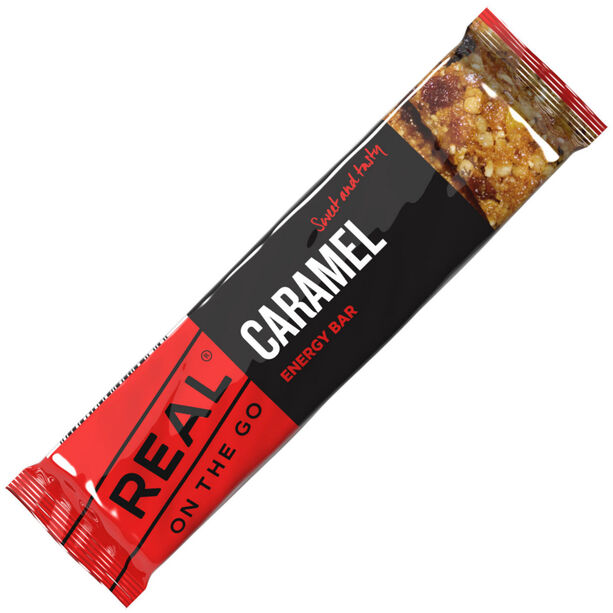 Real Turmat Caramell Bar 40g