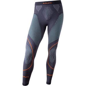UYN Evolutyon UW Long Pants Herr charcoal/green/orange shiny charcoal/green/orange shiny