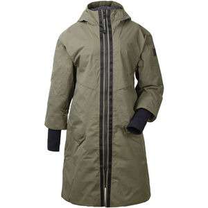 Didriksons 1913 Aino Parka Dam crocodile green crocodile green