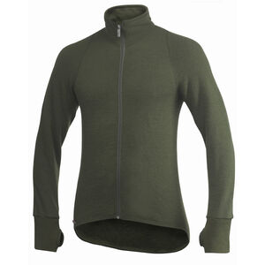 Woolpower 600 Full Zip Thermo Jacket pine green pine green