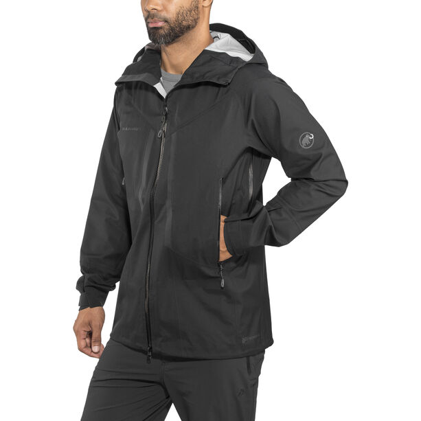 Mammut Masao HS Hooded Jacket Herr black