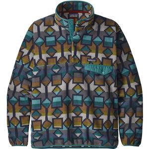 Patagonia Lightweight Synchilla Snap-T Pullover Herr Cedar Mesa Big/Neo Navy Cedar Mesa Big/Neo Navy