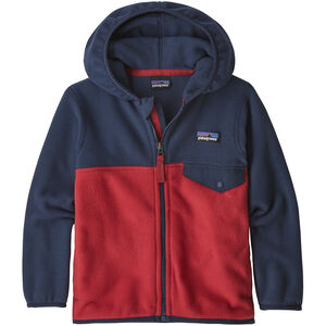 Patagonia Micro D Snap-T Jacket Barn fire with neo navy fire with neo navy