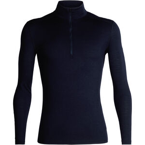 Icebreaker 200 Oasis LS Half Zip Shirt Herr midnight navy midnight navy