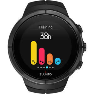 Suunto Spartan Ultra Titanium Watch all black all black