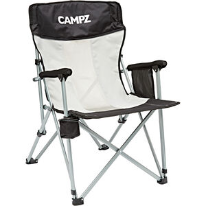 CAMPZ Mesh Folding Chair grey/black grey/black