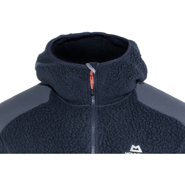 Mountain Equipment Moreno Hooded Jacket Herr Cosmos/Blue Nights