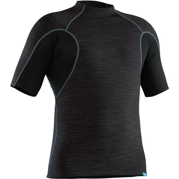 NRS HydroSkin 0.5 Short Sleeve Shirt Herr black