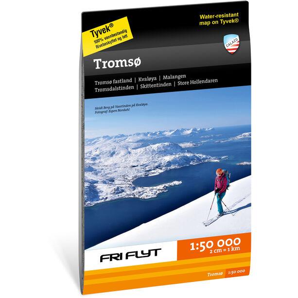 Calazo Tur og toppturkart Tromsø