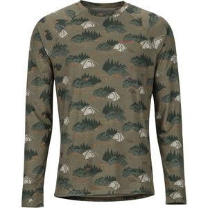 Marmot Harrier Midweight LS Crew Shirt Herr camping camo camping camo