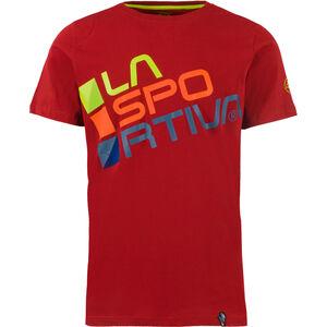 La Sportiva Square T-shirt Herr chili chili