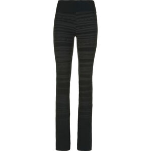 E9 Leg Hemp Pants Dam black black