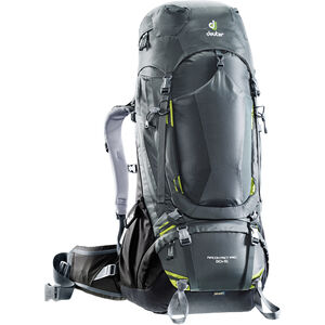 Deuter Aircontact PRO 60 + 15 Backpack graphite-black graphite-black