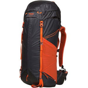 Bergans Helium 55 Backpack solid charcoal/koi orange solid charcoal/koi orange