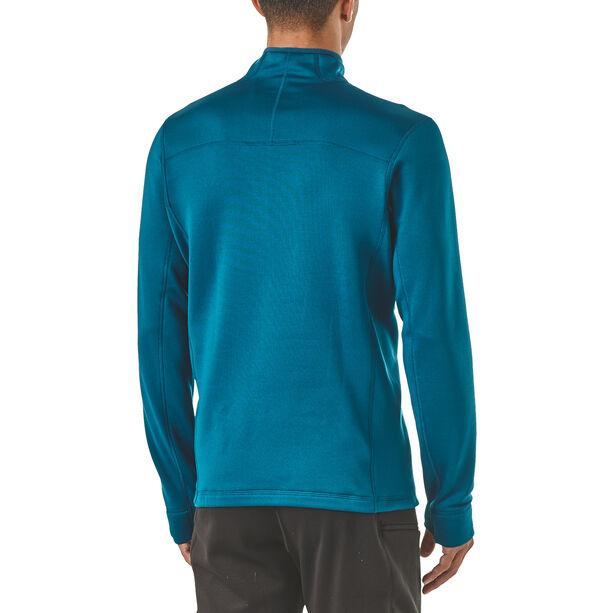Patagonia Crosstrek 1/4 Zip Shirt Herr big sur blue