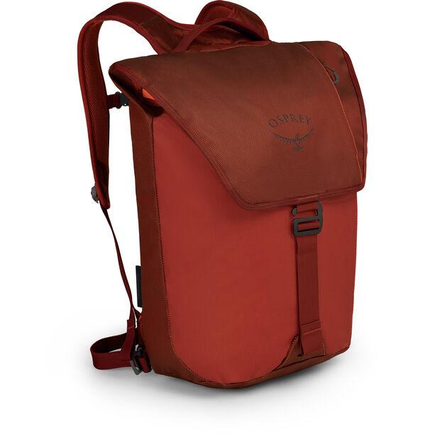 Osprey Transporter Flap Backpack ruffian red