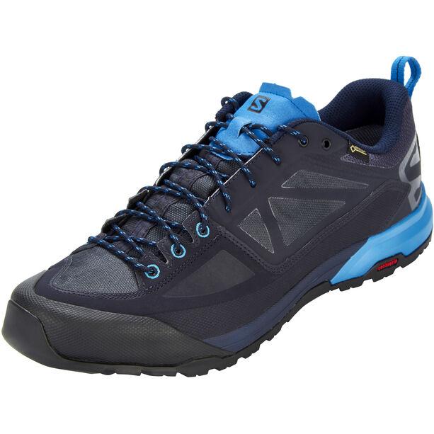 Salomon X Alp SPRY GTX Shoes Herr night sky/graphite/indigo bunting